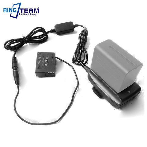 External Power Supply DMW-DCC8 with F970 Adapter