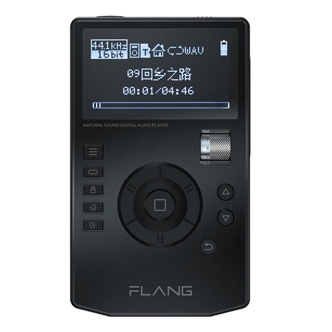 FLANG V5 HiFi Music Player High Resolution Digital Lossless Audio Player w/ 2.4-Inch OLED Screen