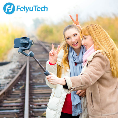 FeiyuTech Vimble 2 Feiyu 3-Axis Handheld Smartphone Gimbal Stabilizer with 183mm Pole Tripod for
