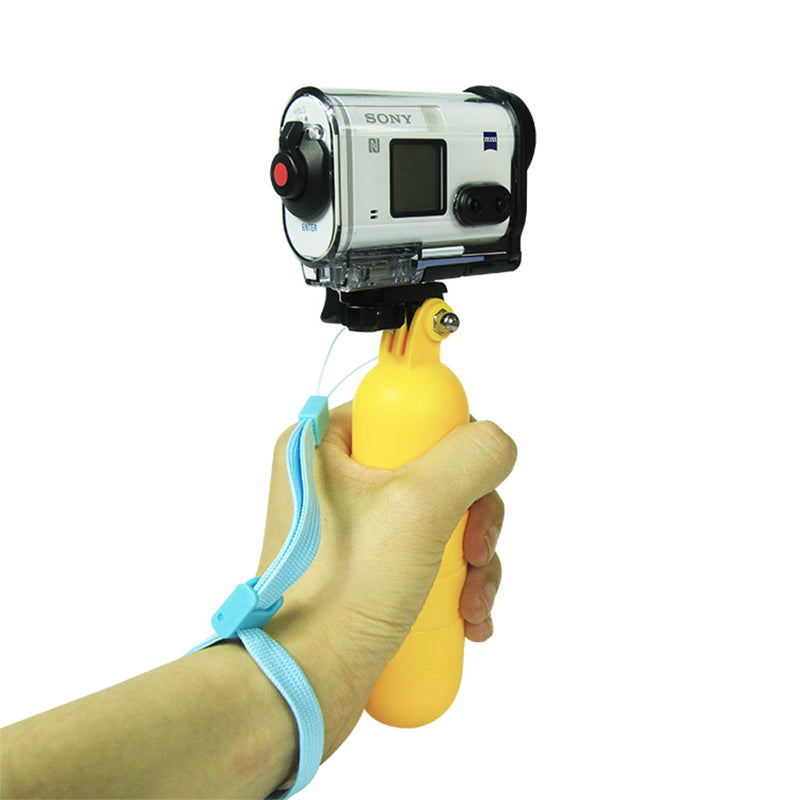 Floaty Floating Hand Grip Handle Strap For Xiaomi YI 4K Sony HDR X3000 X1000 AS300 AS200 AS100