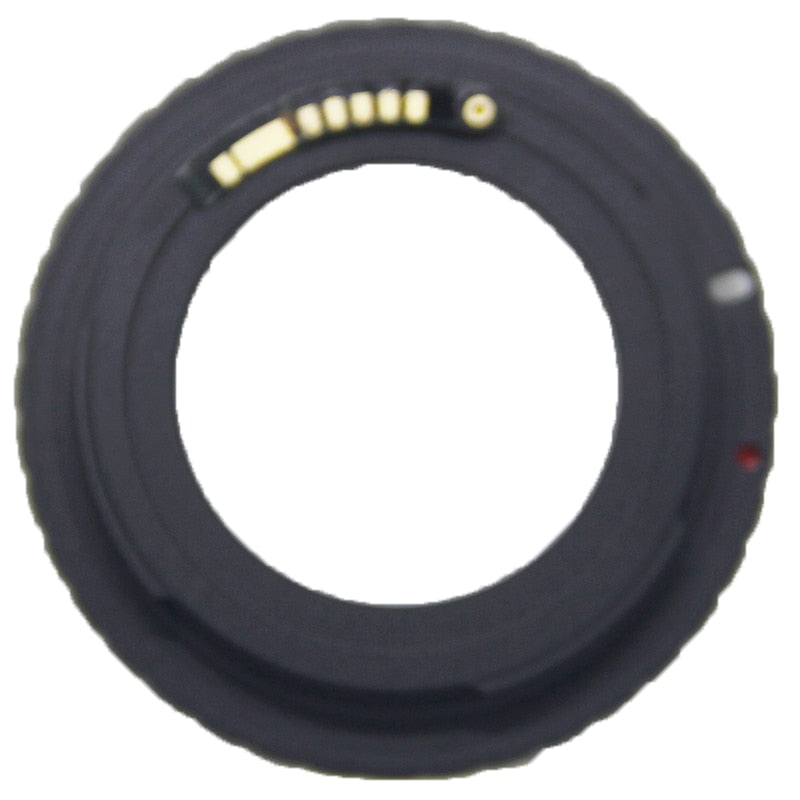Foleto Electronic AF Confirm M42 Mount Lens Adapter for Canon EOS 5D 7D 60D 50D 40D 500D 550D 600D