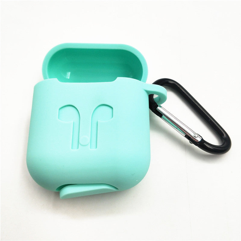 For Apple AirPods Case Silicone Earphone Case Skin Cover Shock Proof Protector Sleeve True