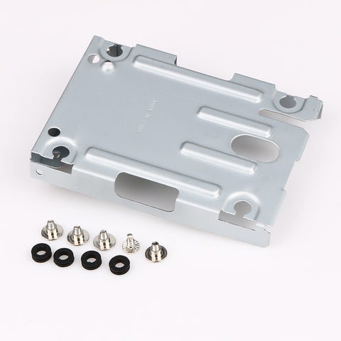 For PS3 Super Slim internal Hard Disk Drive HDD Mounting Bracket Caddy + Screws (not include HDD)