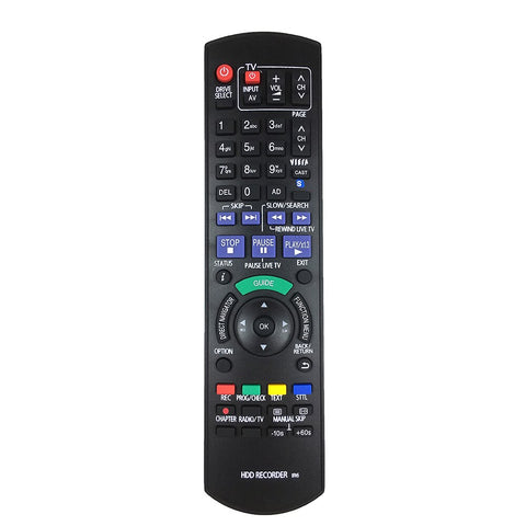 For Panasonic N2QAYB000618 Genuine HDD DVD IR6  Recorder Remote Control DMR-HW100 DMR-HW100EBK