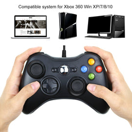 For Xbox 360 USB Wired Gamepad Support Win7/8/10 System Controle Joystick For XBOX360 Slim/Fat/E