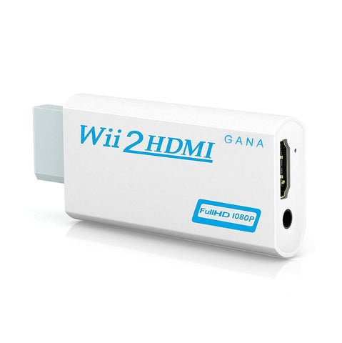 Full HD 1080P Wii to HDMI Converter Adapter Wii2HDMI Converter 3.5mm Audio