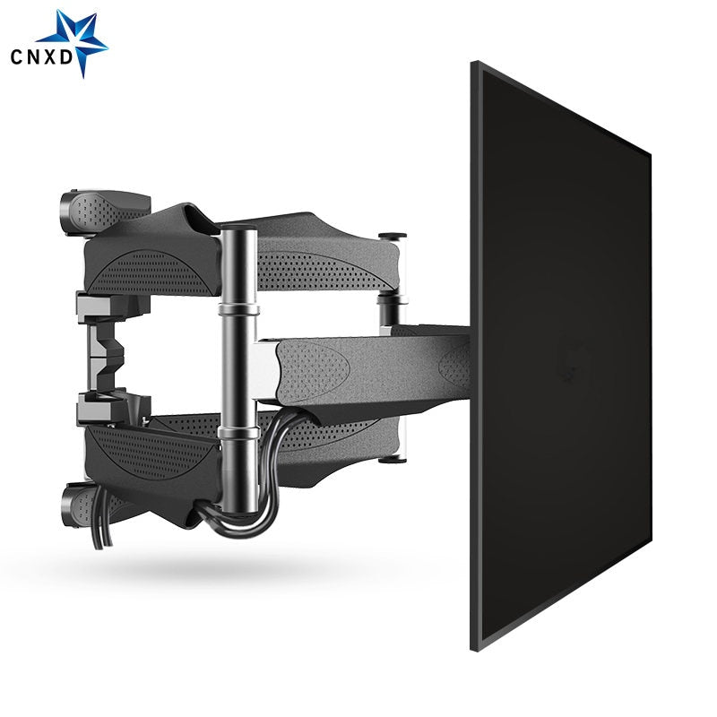 "Full Motion TV Wall Mount 6 Arms Retractable Swivel Tilt TV Bracket Rack for 32-60"" MAX VESA"