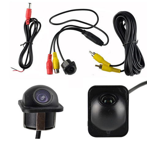 Full View Car Rear Mirror Side Backup Parking Front Dual Use Hole 360 Camera Holder Left and right