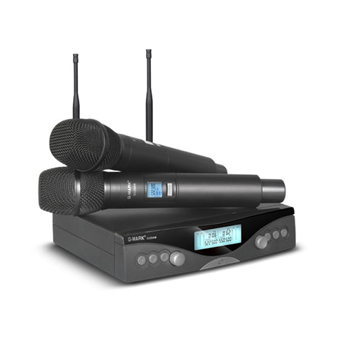 G-MARK G320AM Wireless Microphone System Professional UHF Automatic Handheld microphone