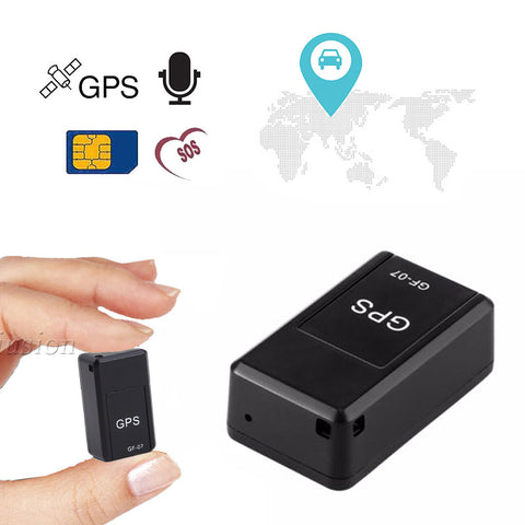 GF-07 Mini GPS Vehicle Tracker Locator Magnetic SOS Tracking Device Car Kid Pet Dog Personal