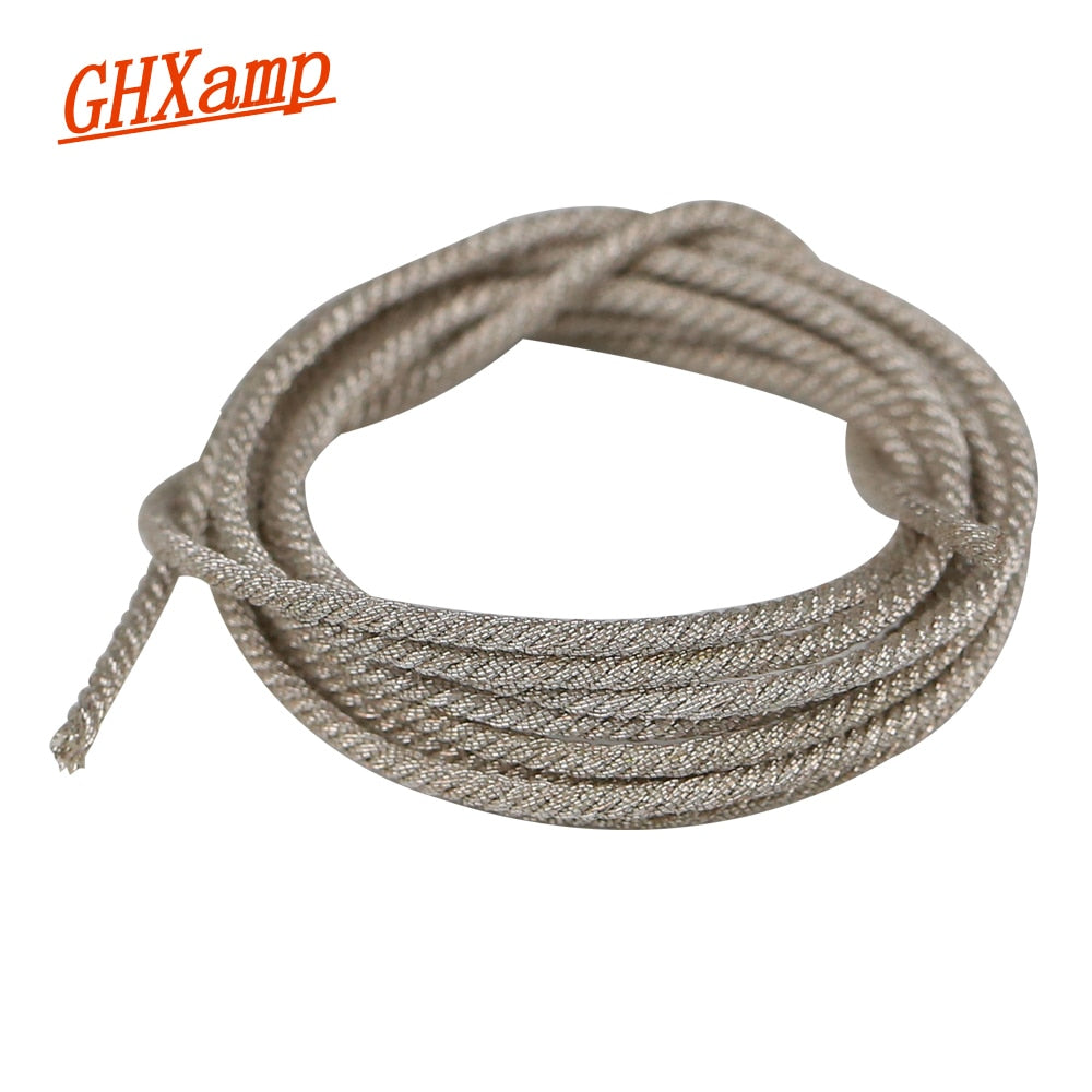 "GHXAMP 1Meter Lead Wire for 15"" 18"" 21 Inch Professional PA Subwoofer Speaker Repair Woofer Voice"