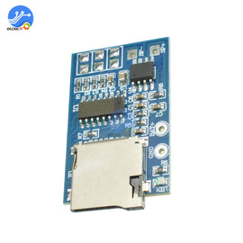 GPD2846A TF Card MP3 Decoder Board Amplifier Module 2W Audio Players Mode for Arduino GM Power
