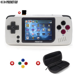 Game Console,PocketGo,Video Game Console Retro Handheld, 2.4inch screen portable