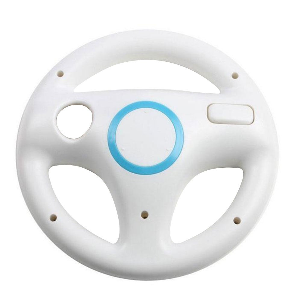 Gasky 6 colors Racing Game Round Steering Wheel Remote Controller for Nintendo for Wii children