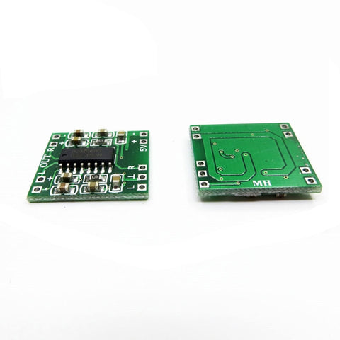 Hifivv audio 2x3W Mini Digital Power Amplifier Board for Class D Stereo Audio Amplifier Module 5V