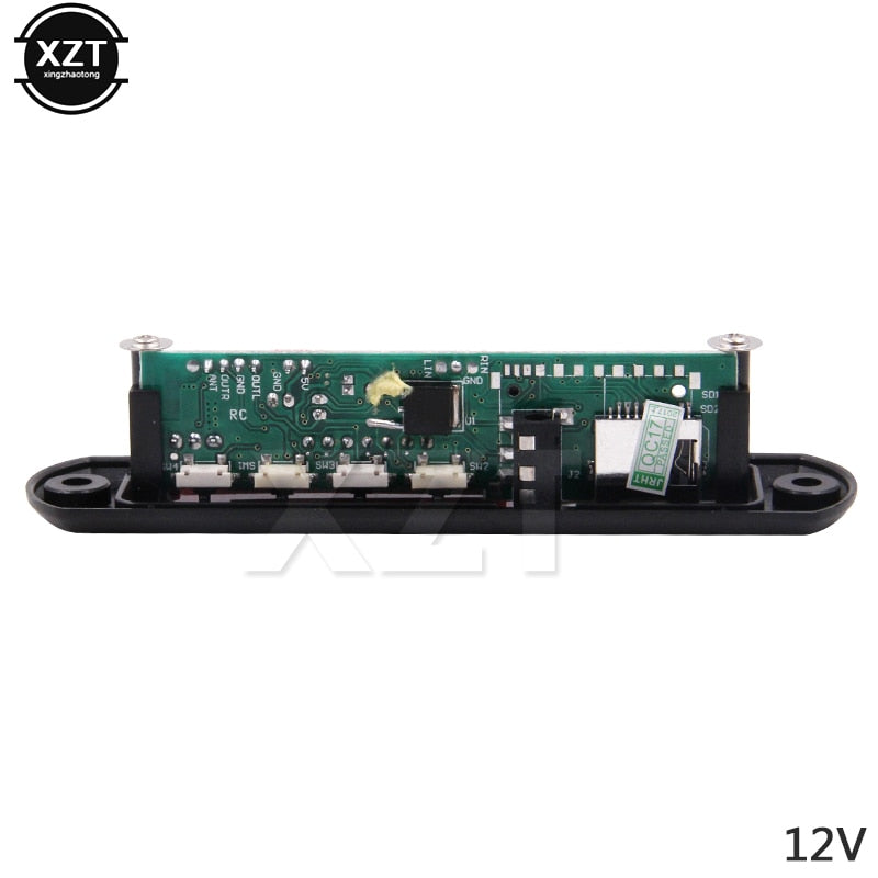 High Quality DC 5V 12V Micro USB Power Supply TF Radio MP3 Decoder Board 5V Audio Module for Car
