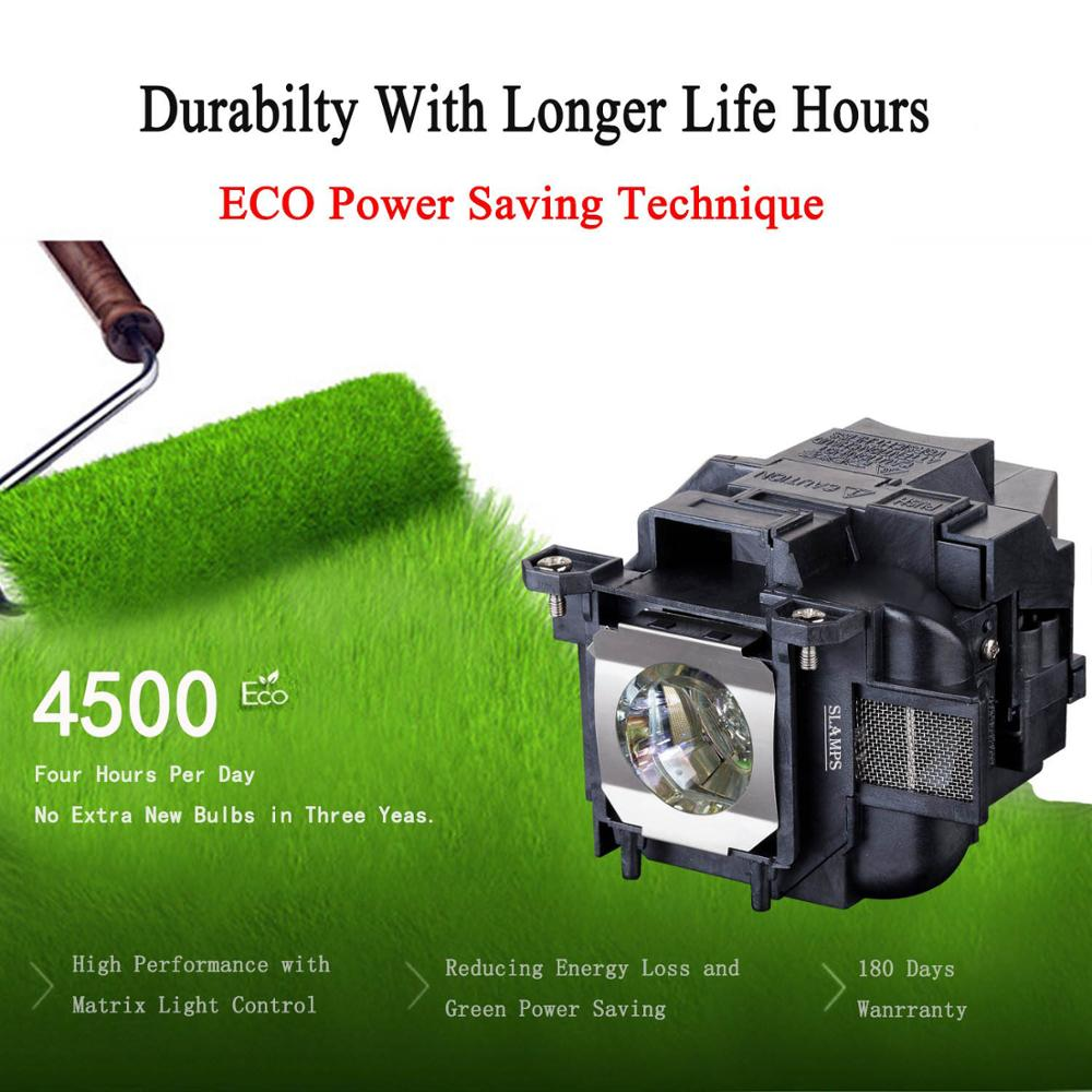 High Quality ELPLP78/V13H010L78 Replacement projector lamp with Housing for  EPSON