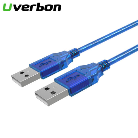 High Quality USB 2.0 Male to Male Data Cable Cord Aux Cable USB2.0 Extension Data Cable USB 2.0 Type