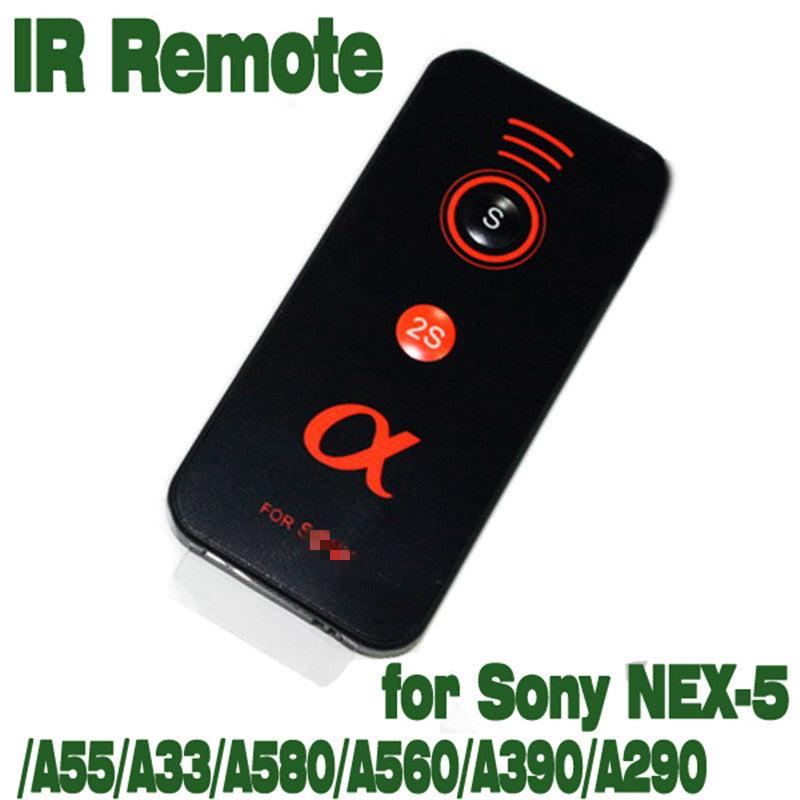 IR Infrared Shutter Release Remote Control for Sony Alpha