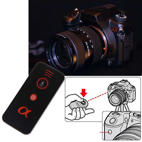 IR Infrared Shutter Release Remote Control For Sony Alpha A7 A7 II A7R A7S A6000 a330/a450/a500/a700
