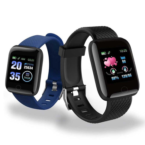 D13 Smart Watches 116 Plus Heart Rate Watch Smart Wristband Sports Watches Smart Band Waterproof