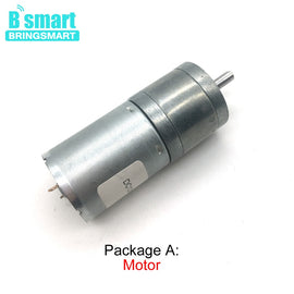 JGA25-370 Mini Motor DC 12 Volt 3V 6V 24V High Torque Low Speed Reversed Electric Motor Reduction Engine