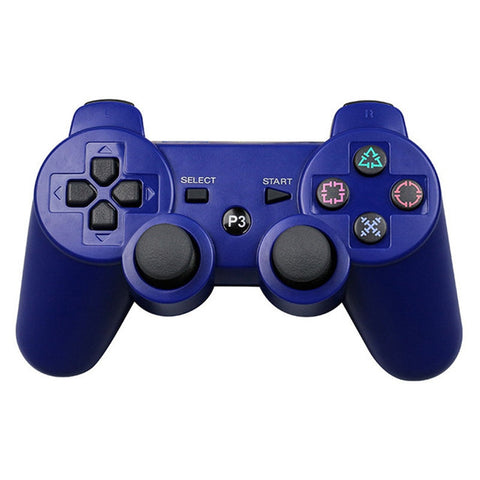 JIELI Wireless Bluetooth Solid Color Controller For Sony PlayStation Dualshock 3 PS3 Controller