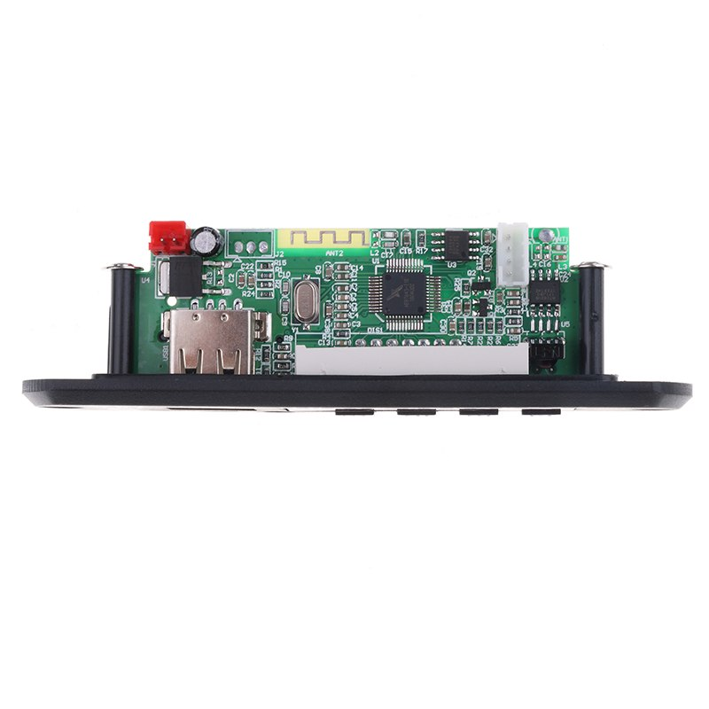 Kebidu Hot Bluetooth USB MP3 WMA FM Radio MP3 Decoder Board DC 12V Audio Module For Car Remote Music