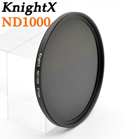 KnightX ND2 to ND1000 ND1000 ND400 52 58 67 mm Neutral density nd filter Glass