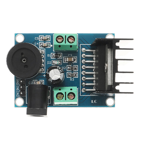LEORY HIFI Audio Board Two Channel TDA7266 Operational Audio Amplifier Module Chips 7W+7W Dual