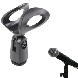LEORY Microphone Shock Mount Clip Holder Mic Clips Plastic Microphone Clips Mic Stand Accessory Holder Shock Mount Clip Holder