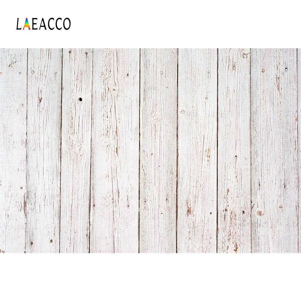 Laeacco Wooden Board Planks Texture Portrait Grunge Photography Backgrounds Customized Photography