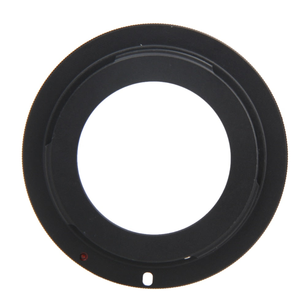 Lens Adapter Ring Fit Focus Infinity M/AV Mode Metal Black Lens Adapter Accessories For M42 Screw