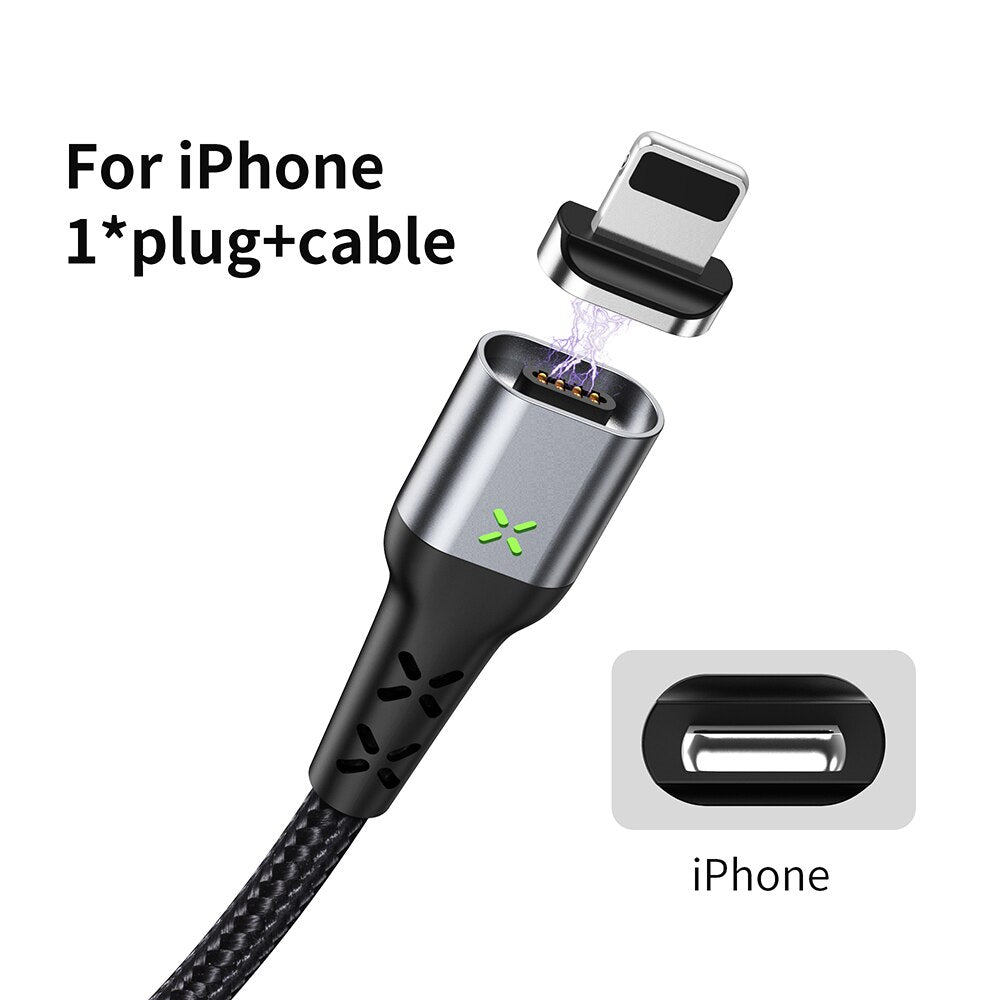 MANTIS Magnetic Charger Micro USB Type C Cable For iPhone Samsung Xiaomi Redmi Android Mobile