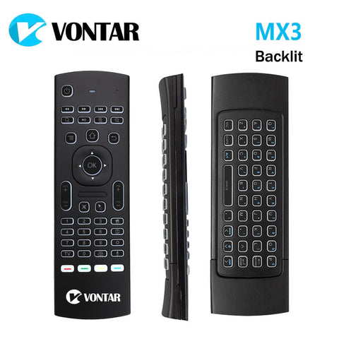 MX3 Air Mouse 2.4GHz Wireless Mini Keyboard Voice remote control IR Learning Remote Control