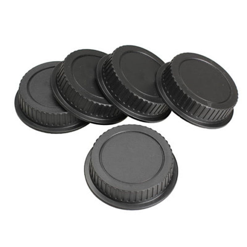 Mayitr 5pcs New Rear Lens Cover plastic Lens Cap Dust For Canon Camera EF ES-S EOS Series Lens