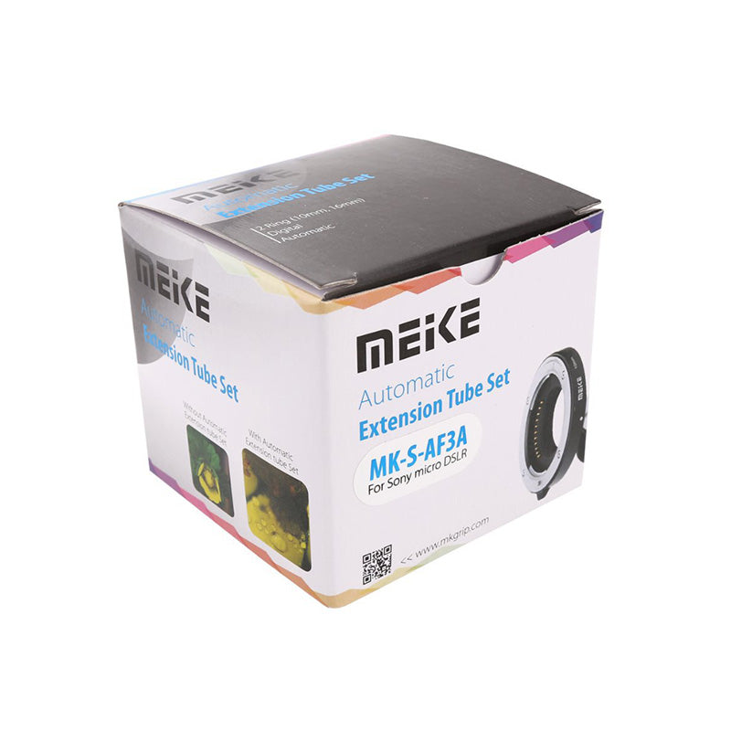 Meike MK-S-AF3A Metal Auto Focus Macro Extension Tube 10mm 16mm for Sony Mirrorless a6300 a6000 a7