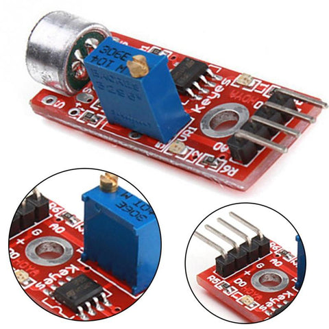 Microphone Amplifier Modules Sensor AVR PIC High Sensitivity Sound Detection Module Electronics PCBA