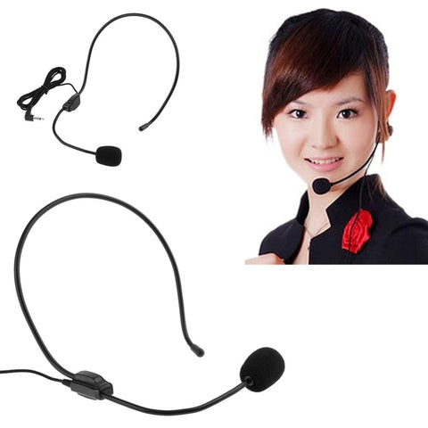 Microphone Smartphone Audio Device Lightweight Wired 3.5mm Microphone Headset