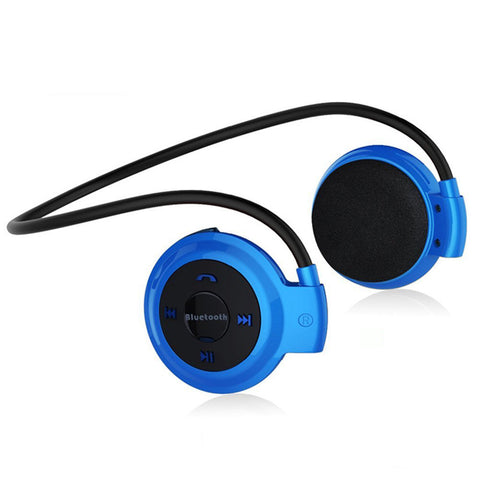 Mini 503 Bluetooth Headphone Card MP3 Player with FM Radio MicroSD Play Max to 32GB Wireless