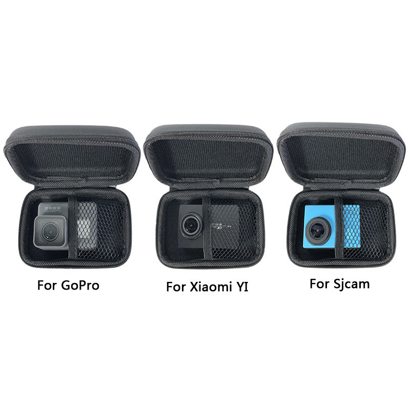 Mini Bag Portable Shockproof Storage box Compact waterproof Case For Gopro Hero 7 6 5 4 3 SJCAM