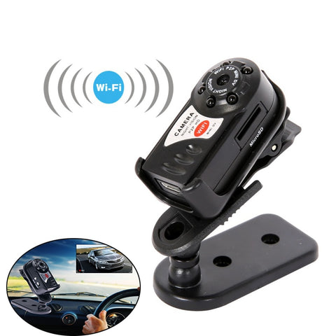 Mini Q7 Camera 480P Wifi DV DVR Wireless