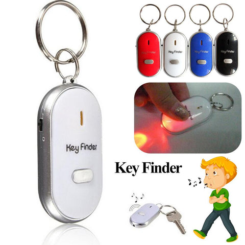 Mini Whistle Anti Lost Key Finder Wireless Smart Flashing Beeping Remote Lost Keyfinder Locator