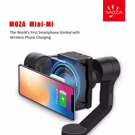 Moza Mini-Mi Vlog 3-Axis Smartphone Wireless Charging Gimbal Stabilizer