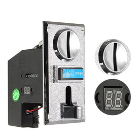 Multi Coin Acceptor Electronic Roll Down Coin Acceptor Selector Mechanism Vending Machine