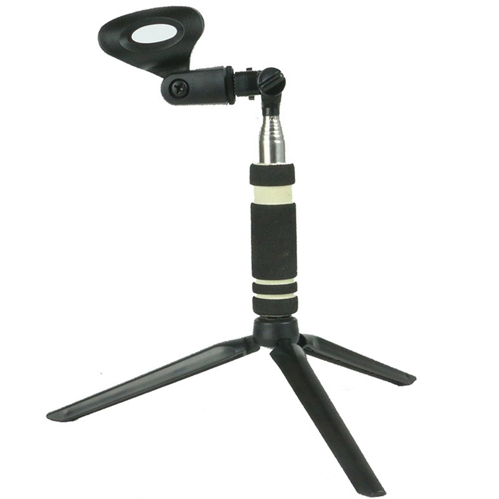 Multifunction Practical Portable Microphone Holder Universal Stage Use Clip Stand Rotatable