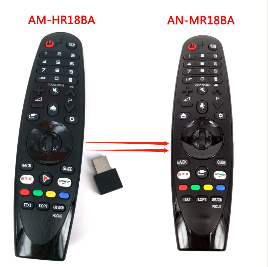 AM-HR18BA for LG AN-MR18BA AEU Magic Remote Control with Mate for Select 2018 Smart TV