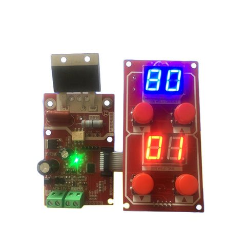 NY-D04 DIY Spot Welding Machine Transformer Controller Control Panel Board Adjust Time Current