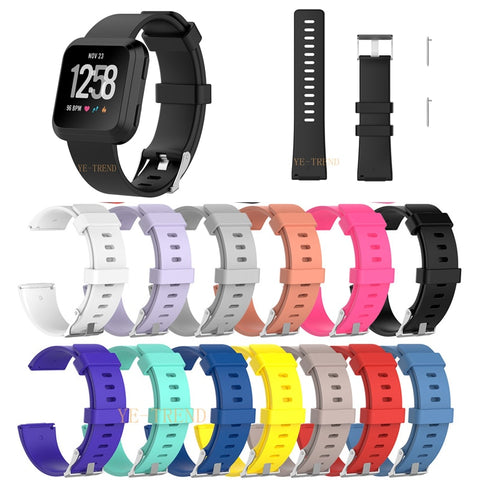 New Arrival For Fitbit Versa Wristband Wrist Strap Smart Watch Band Strap Soft Watchband Replacement