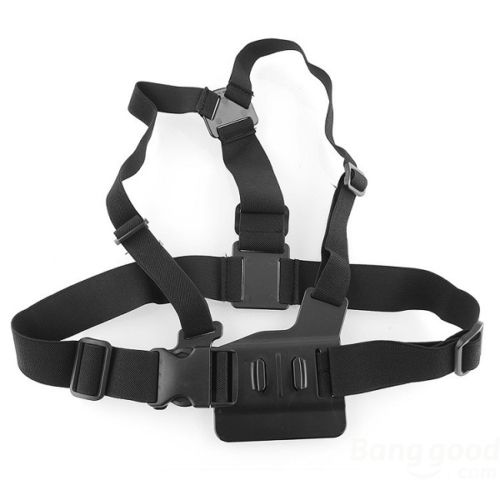New GP59 Elastic Adjustable Head Strap Mount Belt and Chest Belt Mount Kit For Sports camera